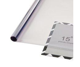 0.5*3 m Lichtblauw uv + isolatie Autoruit Tint Film VLT 75% 2 ply Zonwering Film <br />  AUMOHALL