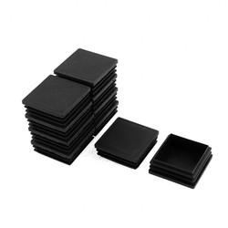 "MyXL 2 ""Zwart Plastic Vierkante Tubing Plug Eindkap Insert Cover 10 Stks <br />  X Autohaux"