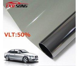 50*300 CM Autoruit Tint Tint Film Glas VLT 50% Solar Uv-bescherming Zomer Voorkomen Ultraviolet Auto side venster solar tint <br />  TXDSONG