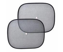2 stks Opvouwbare Auto Zijruit Zonnescherm Screen Vizier Shield Cover Solar Bescherming Raamfolies Voor VW Polo Audi A4 BMW Kia <br />  DWCX