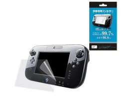Clear Beschermfolie Joypad Oppervlak Guard Cover voor Nintendo Wii U Gamepad WiiU LCD Transparante Screen Protector