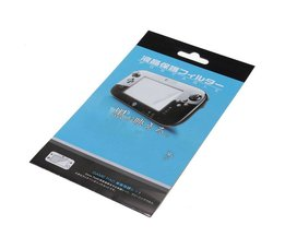 Lcd-scherm Film Protector Guard voor Wii U Gamepad Hoge Transparante Beschermende Screen