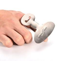 MyXL 1 STKS Vinger Guard Beschermen Vinger Hand Kwetsen Cut Rvs Hand Protector Mes Snijden Vinger Bescherming Gereedschap