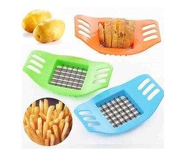 Groente Aardappel Slicer Cutter Chopper Chips Maken Tool Aardappel Snijden Frietjes Tool Keuken Accessoires