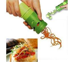 Groente-en Handheld Spiralizer Bundel Komkommer Wortel Sprial Cutter Slicer Courgette Spaghetti Pasta Maker