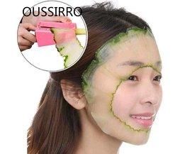 Make Up Masker snijmachine komkommer schoonheid Komkommer masker cutter schoonheid apparaat Keuken Gadget Tool Groente Fruit Curl Slicer