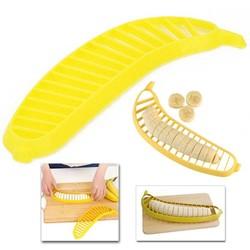 MyXL Banana Slicer Maken Salade Divider Gesneden Banaan Worst Ham Snijmachine Fruit Keuken Shredder