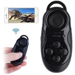 MyXL Selfie Afstandsbediening Sluiter Draadloze Muis Zwart Mini Bluetooth Gamepads Game Controller Joystick Voor iOS Android Smartphone TV Box