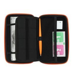 MyXL 3 In 1 Accessoire Set Voor2DS LL Met Wit EVA Carrying Case Tas + Screen Protector + Stylus Set Voor Nintendo2DS XL/LL