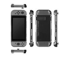 Transparante Draagbare Clear Beschermende Shockproof Hard Case Achterkant Anti-ScratchSkin Shell Voor Nintend Schakelaar Game Accessoire