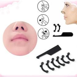 MyXL 6 Stks/set 3 Size Beauty Nose Up Lifting Brug Shaper Massage Tool Geen Pijn Neus Vormgeven Clip Clipper Vrouwen Meisje Massager