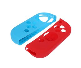 11 stks/setantislip Silicone Cover Skin Case Bescherming Kit voor Nintend Switch Console Vreugde-Con Controllers siliconen Cover