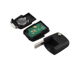 Afstandsbediening Sleutel 2 Knoppen Fit SEAT 1J0959753AG Voor SEAT Leon Ibiza Toledo Autosleutel 434 MHz met ID48 Chip 1J0 959 753 AG