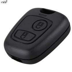 MyXL RIN Afstandsbediening Sleutel Auto Sleutelhanger Case Voor Citroen C1 C4 voor Peugeot 107 207 307 407 206 306 406 Vervanging Shell Cover