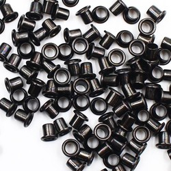 MyXL 100 st Zwarte Antieke Plakboek Oogjes Innerlijke 5mm Metalen oogjes Voor Scrapbooking embelishment kledingstukkleren oogjes Naaien
