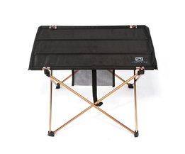 Lichtgewicht Aluminium Draagbare Klaptafel voor Camping Outdoor Activties Opvouwbare Picknick Barbecue Bureau Klaptafel