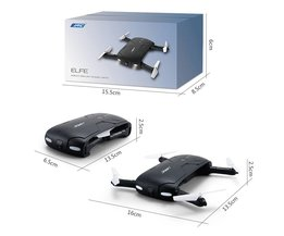 JJRC H37 EIfie (Met 2MP Camera) 2.4G 6 Axis zelfontspanner WIFI real-time transmissie opvouwbare FPV RC Quadcopter
