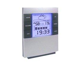 Huishoudelijke Digitale Lcd-scherm Hygrometer Thermometer Temperatuur-vochtigheidsmeter Calender Klok Alarm