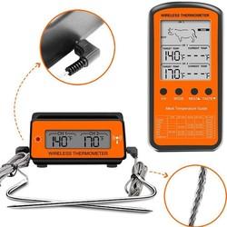 MyXL AsyPets Draadloze Afstandsbediening Dual Probe Digitale Koken Vlees Voedsel Oven Thermometer voor Grillen Roker BBQ-30