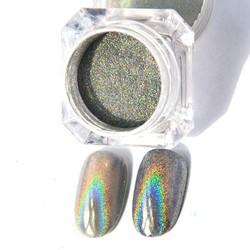 MyXL GEBOREN PRETTY 1g Holografische Shiny Glitter Poeder Eenhoorn Laser Regenboog Poeder Nail Glitter Dust Holo Nail Chrome Pigmenten