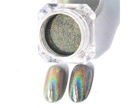 GEBOREN PRETTY 1g Holografische Shiny Glitter Poeder Eenhoorn Laser Regenboog Poeder Nail Glitter Dust Holo Nail Chrome Pigmenten