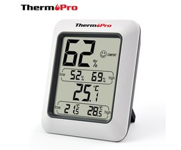 Thermopro TP50 Hoge nauwkeurigheid LCD Digitale Thermometer Hygrometer Indoor Elektronische Temperatuur-vochtigheidsmeter Weerstation