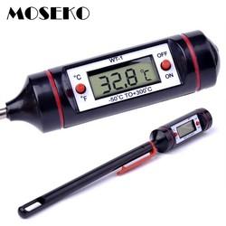 MyXL MOSEKOKoop Draagbare Voedsel Thermometer Digitale Melk Water Oven Probe BBQ Vlees Thermometer Keuken Koken Tool Temperatuur