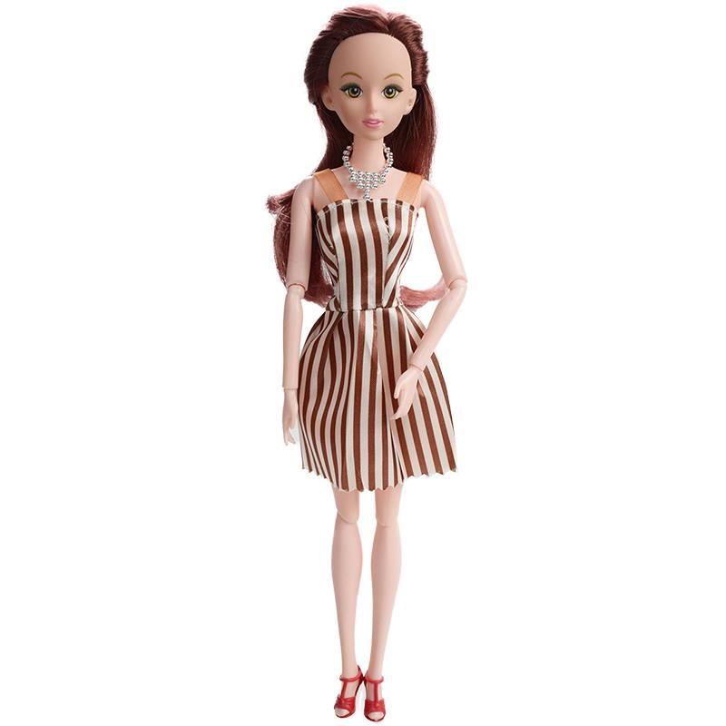26 Item-Set Accessoires = 10 STKS Mix Sorteert Mooie Barbie Kleding Mode Jurk + 6 Plastic ketting +