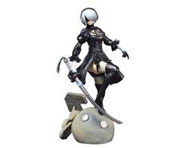 PS4 Game anime figuur NieR Automaten YoRHa Nr 2 Type B 2B Cartoon Speelgoed Action Figure Model Doll