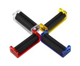 Gemakkelijk Gebruik Handleiding Tabak Roller Hand Sigaret Maker Rolling Machine Tool Mannen Neccessities Vader Geschenken Acryl Materiaal 70mm