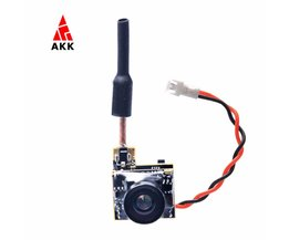 AKK BS2 5.8G 48CH 25 mW VTX 600TVL 1/3 Cmos AIO FPV Camera voor FPV Drone Zoals Tiny Whoop Blade Inductrix etc