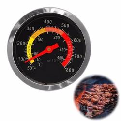 MyXL Rvs 10-400degree BBQ Roker Grill Thermometer Temperatuurmeter 50-800Fahrenheit