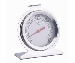 Keuken Rvs Dial Oven Thermometer Koken termometer Grill Voedsel Vlees Thermometer Verstelbare Stand Up Hange thermomer