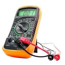 MyXL Handheld Telt Met Temperatuurmeting LCD Digitale Multimeter Tester XL830L Zonder Batterij E3382 T50