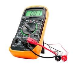Handheld Telt Met Temperatuurmeting LCD Digitale Multimeter Tester XL830L Zonder Batterij E3382 T50