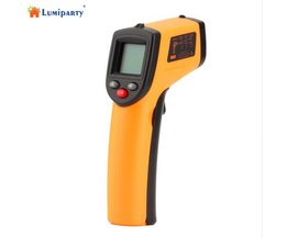 LumiParty Digitale Infrarood Thermometer Themperature Pyrometer IR Laser Point Gun Non-Contact 330 graden GM320-20
