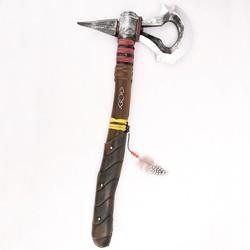 MyXL Creed III 3 Connor's Kenway DELUXE PU Tomahawk Hatchet Prop Wapen Speelgoed Bijl Cosplay Kinderen Replica Kostuum accessoire