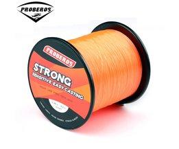 1 ST Nylon Lijn 500 M Oranje Vislijn 9.2 kg Monofilament Lijn Japan Materiaal BKY-BG dezelfde kwaliteit Vislijn