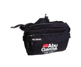 ABU GARCIA Black 600D Nylon Multi-pocket Vissen Tas Buitensporten Heuptas Visgerei Doos Accessoires