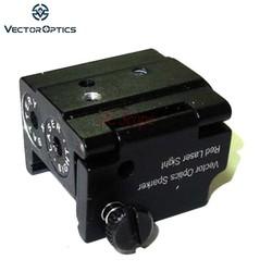 MyXL TAC Vector Optics Mini Red Laser Sight Dot Scope met 21mm Picaitinny Rail voor Glock Ruger Compact Pistool Pistool