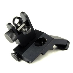 MyXL 1 Paar Tactische BUIS Voor en Achter Side Sight Flip Up 45 Graden Snelle Overgang Iron Bezienswaardigheden van Jacht Gun accessoires
