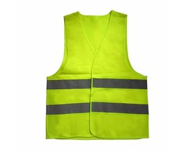 Hoge Zichtbaarheid Reflecterende Fluorescerende Vest Outdoor Veiligheid Kleding Running Contest Vest Veilig Licht-Reflecterende Ventileren Vest