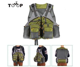 Verstelbare Vliegvissen Vest Premium Gear Packs en Vesten Mesh Vissen Vest voor Vliegvissen voor Mannen en Vrouwen