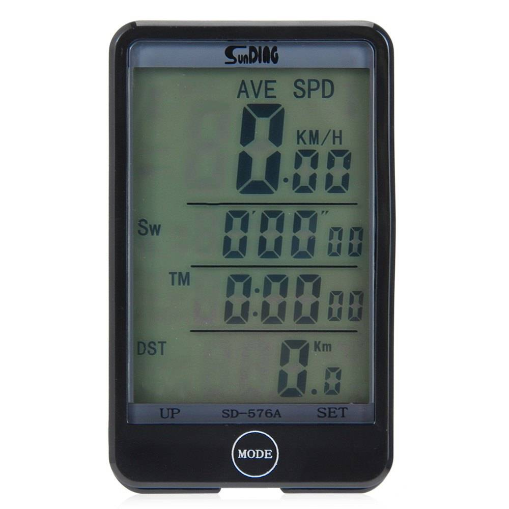 LCD Backlight Wired Fiets Computer Screen Touch Snelheidsmeter Velocimetro Kilometerteller Stopwatch