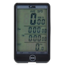 MyXL LCD Backlight Wired Fiets Computer Screen Touch Snelheidsmeter Velocimetro Kilometerteller Stopwatch 27 Functies Fietsaccessoires
