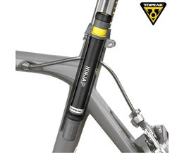 Topeak ninja p fiets mini druk pomp racefiets 160psi presta valve draagbare pomp cnc inflator fietsen zadelpen verborgen pomp