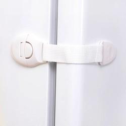 MyXL 10 stks/partij Verlengd bendy Security Koelkast Kastdeur sloten Drawer Wc Veiligheid Plastic Lock Voor Kind Kids baby Veiligheid Zorg