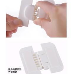 MyXL Multifunctionele Baby veiligheid koelkast slot kinderen thuis Anti pinch hand veiligheidsslot Koelkast deurslot gesp cTRQ0547