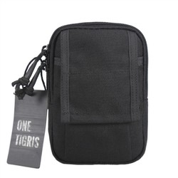 "MyXL Onetigris man buitensporten taille packs running bag molle tactische mini edc utility pouch past 5.5 ""iphone smartphone"