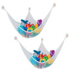 MyXL 1 ST kinderen Speelgoed Opbergtas Hangmat JUMBO Deluxe Pet Organiseren Hoek Knuffel Hangmat Netto Dieren Speelgoed Zak CX671964